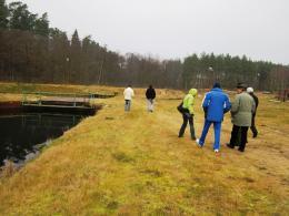 Членове на МИРГ на учебно посещение в Полша
