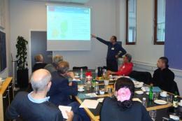 Презентация на МИРГ в Датската агенция по рибарство в Копенхаген.
