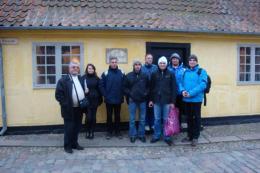 Екипът на МИРГ в Дания, включващ членове на Управителния съвет, Общото събрание  и един експерт към ФОРА.