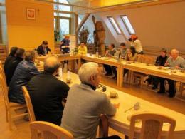 Екипът на МИРГ и представители на Управляващия орган на учебно посещение в Полша