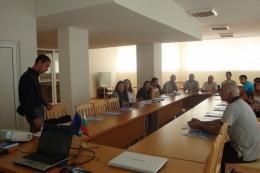 Информационна среща с представители на публичния,граждански и бизнес сектор в община Доспат.